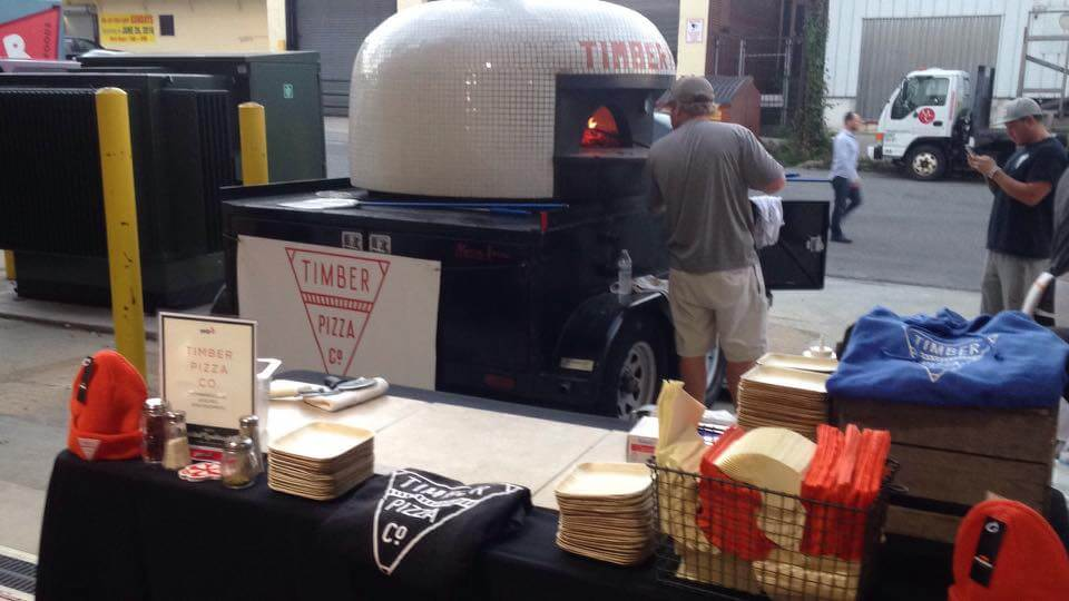 Marra Forni Mobile Brick Oven Client Timber Pizza Co Event