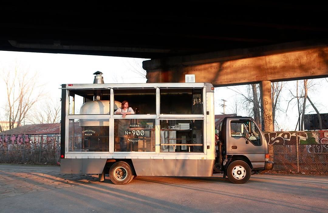 Marra Forni Mobile Brick Oven NO.900 Pizzeria Napolitaine Truck