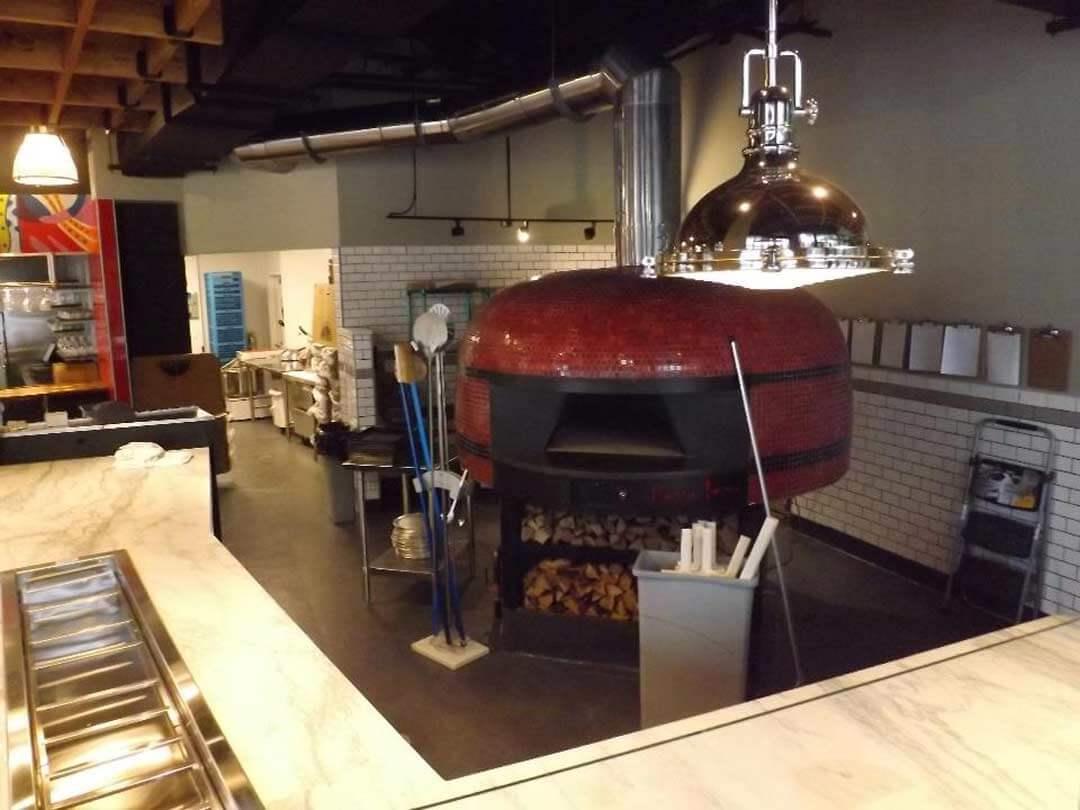 Marra Forni Rotator Brick Oven Client Pizzeria Vetri Oven