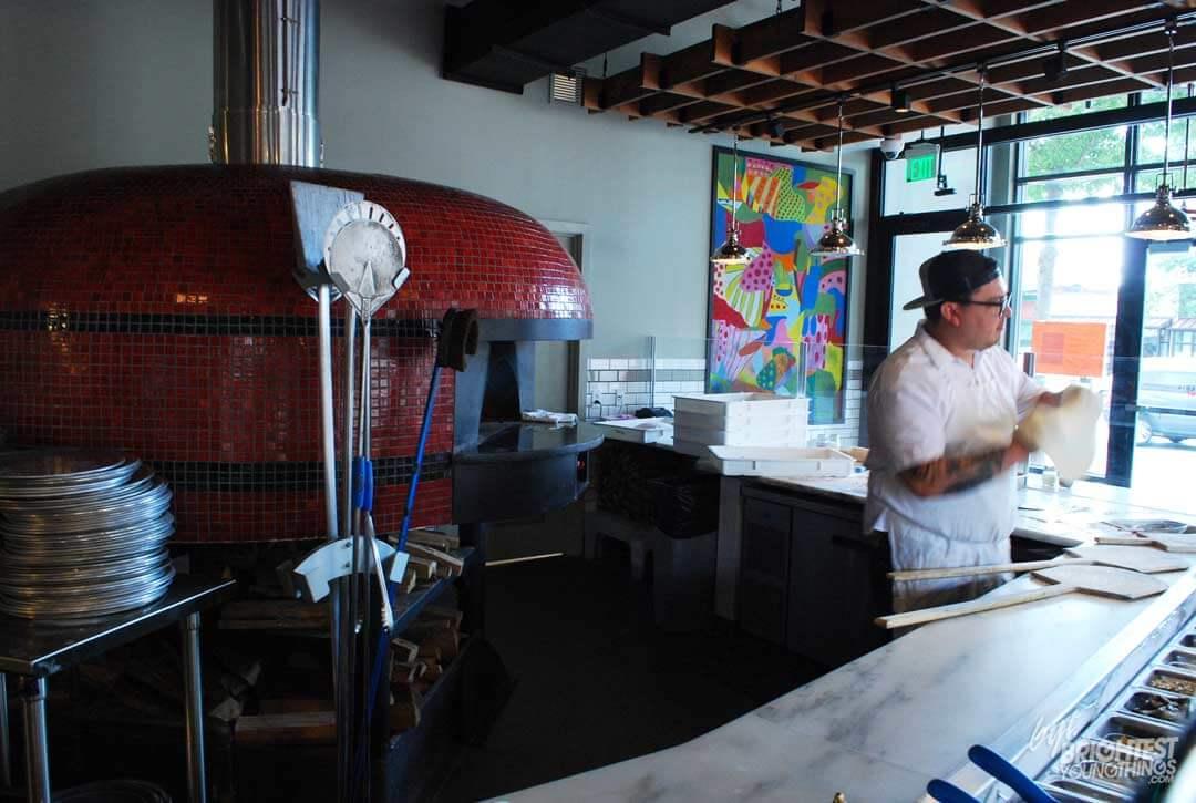 Marra Forni Rotator Brick Oven Client Pizzeria Vetri Pizza Dough