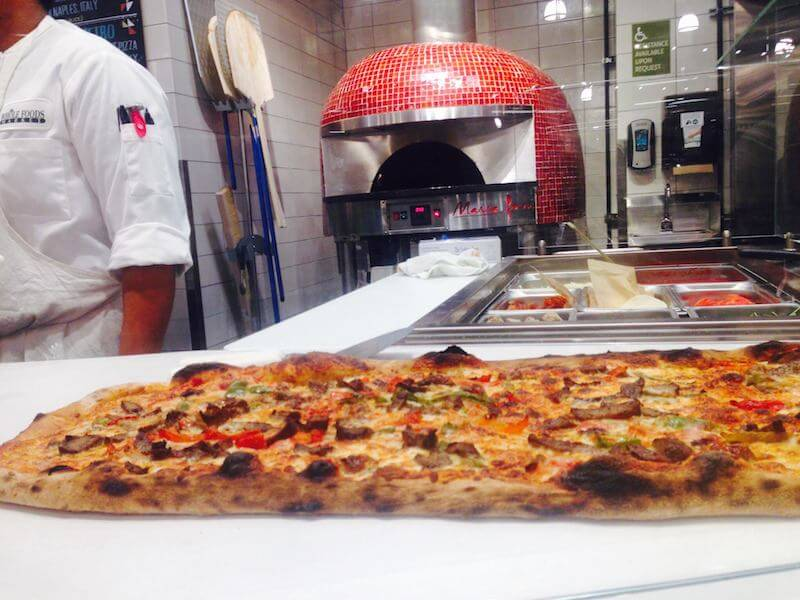Whole Foods Marra Forni red brick oven