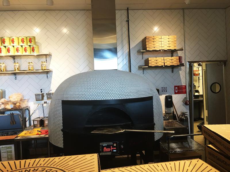 modmarket rotator brick oven front view