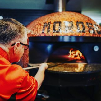 Moroso wood fired pizzeria brick oven