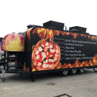 Abu Dhabi Fire Food Pizza Truck