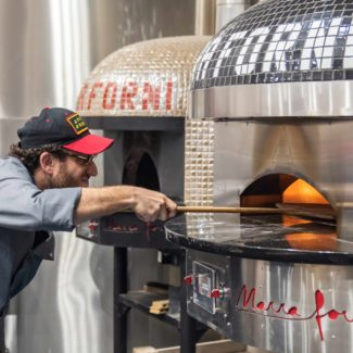 Scott Wiener at Pizza University uses Marra Forni Electric Oven