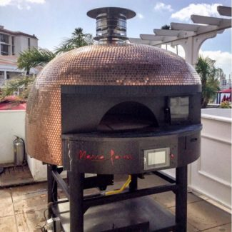 Rotator Marra Forni Gas Wood Chamber Brick Pizza Oven